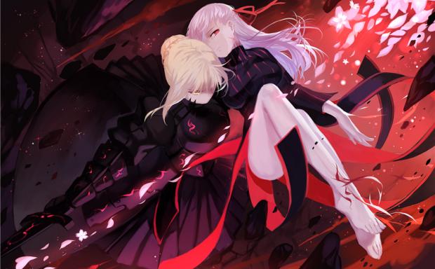 [1.5G]Fate/FGO系列角色黑化saber(saber alter)图包合集_持续更新中