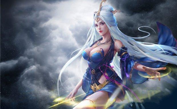 [1.28G]3D古风性感美女游戏原画插画CG设计素材图包