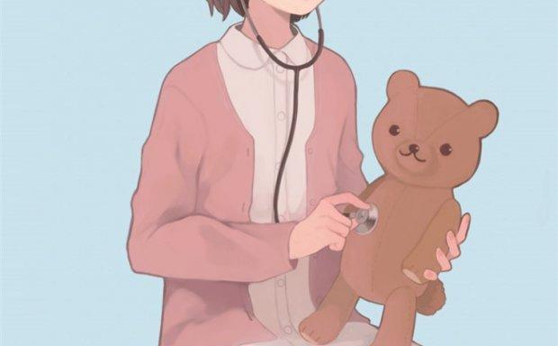 动漫护士服少女高清壁纸插画图包合集_持续更新中
