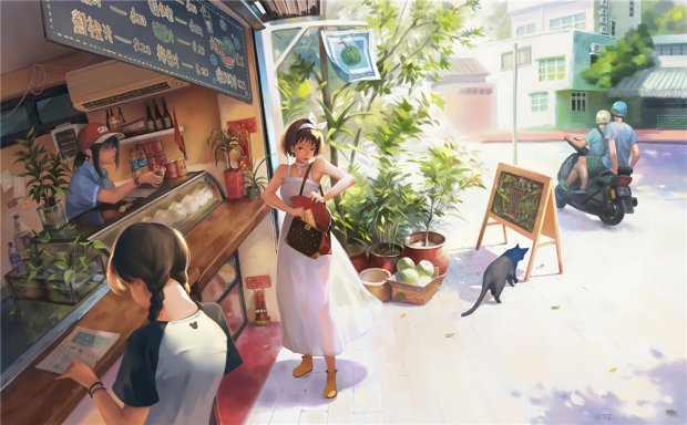 [45P]韩国画师Taejune Kim作品原画插画高清壁纸CG欣赏图包合集_持续更新