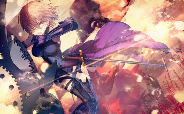[2.5G]FGO/fate系列角色盾娘玛修·基列莱特图集图片欣赏图包合集_持续更新
