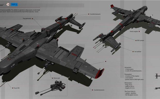 乌克兰概念设计师科幻载具汽车飞行器设定CG作品原画插画美术资料