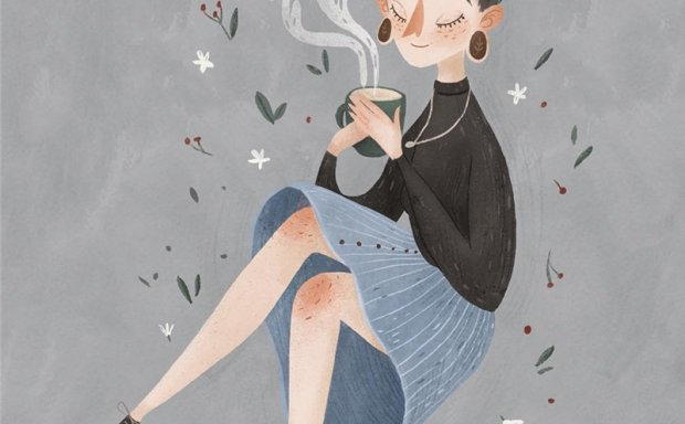 俄罗斯画师AUGUST儿童童话梦幻手绘插画原画壁纸图片素材美术资料