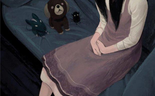 [588M]动漫俯瞰视角俯视卖萌少女主题图集原画插画壁纸图片素材美术资料