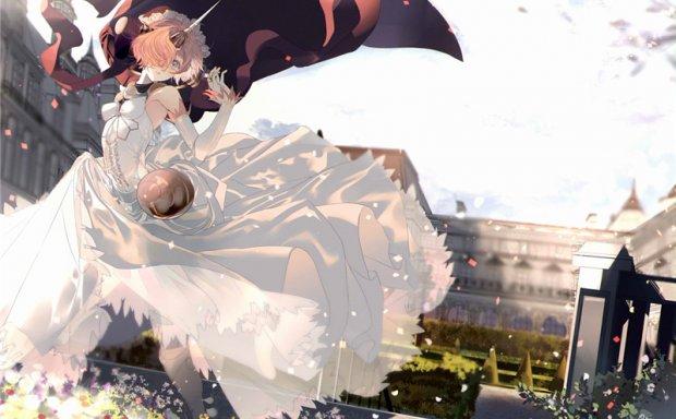 FGO/fate系列角色肯娘弗兰肯斯坦同人图集原画插画壁纸CG图片素材