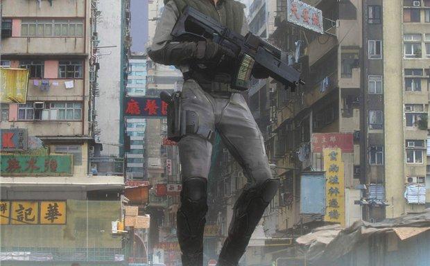 动漫攻壳机动队原画插画设定图集 角色场景分镜设计线稿图片素材