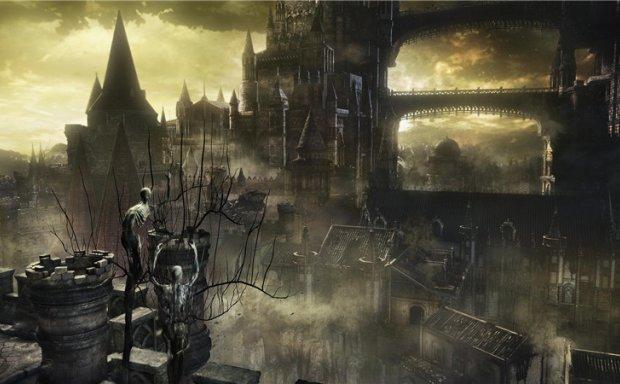 游戏黑暗之魂123艺术设定集原画资料超清壁纸动画CG合集 美术资料