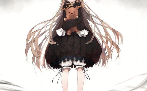 日本画师なるゑ暗淡色调少女原画插画图集图片素材壁纸 美术资料