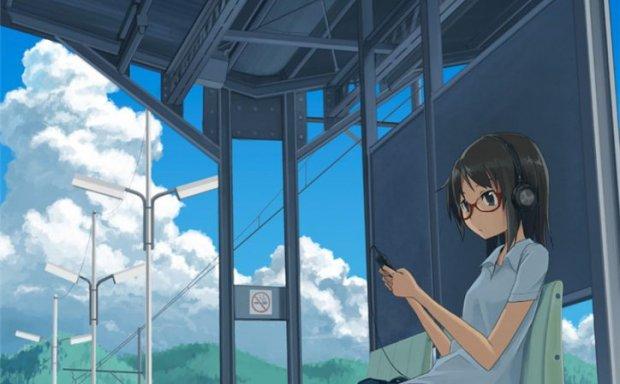 日本画师草壁日系场景人物原画插画作品素材背景技法教程合集资料