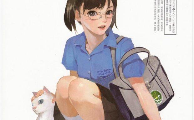 画师蚩尤制服至上-各类JK制服女子高中生制服图集