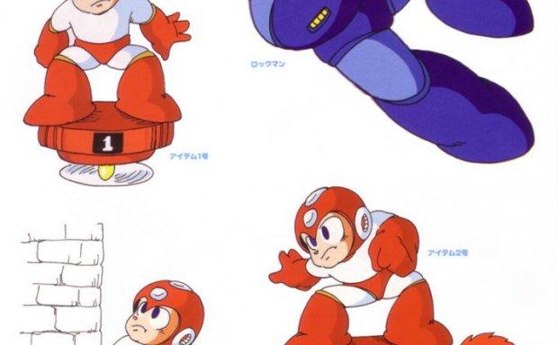 游戏洛克人系列公式设定集画集