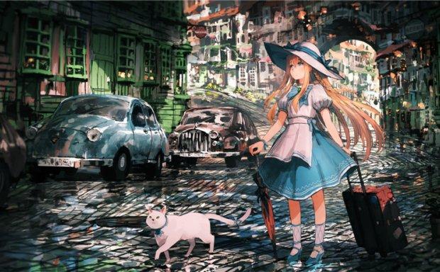 P站画师ジャン・ポポ插画原画作品合集 灵动幻想世界风 pid455626