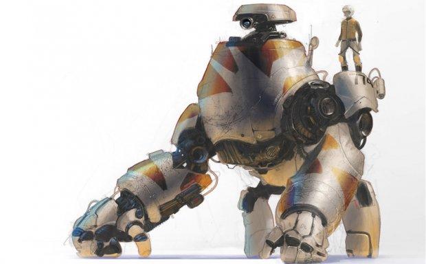 美国设计师Colie Wertz各类机器人机甲飞行器原画设计