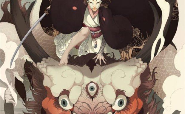 挪威插画师Mona Finden美式卡通日韩系角色原画人设作品图片合集