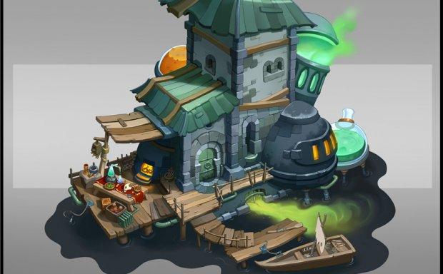 设计师Sebastian Wagner游戏人物场景怪物设计原画