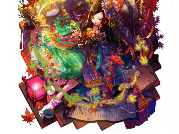 游戏梅露可物语原画立绘图片素材