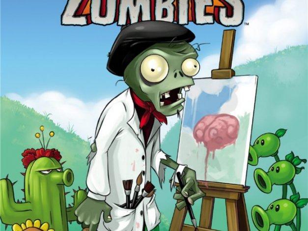 游戏植物大战僵尸角色物品道具原画艺术设定集
