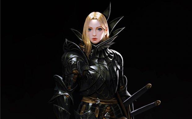 韩国画师hyeonsick choi女武神风格插画游戏原画作品合集图片素材